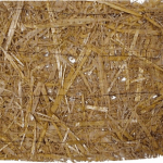 Photograph of Straw blanket.