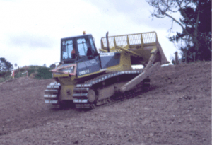 Photograph of bulldozer.